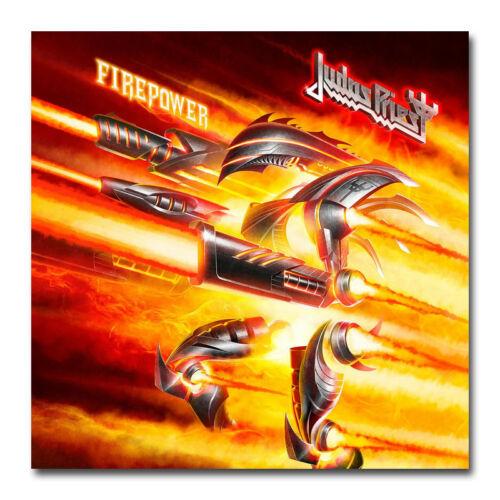Judas Priest Firepower Art Silk Poster 16x16 32x32 inch