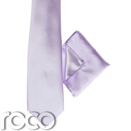 Plain Tie Boys Lilac Pocket Square Boys Classic Tie Boys Lilac Tie