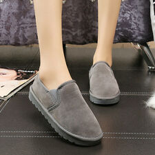 @ Women Casual Flat Shoes Fur Lined Winter Snow Shoes Single shoes*40 GY