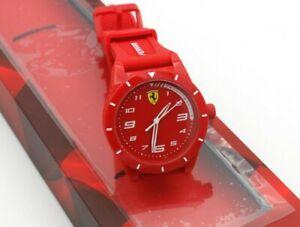 Scuderia Ferrari Quarzuhr Redrev 860010 Silikon Rot 34 Mm S Ebay
