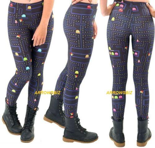 Pacman Game Novelty 3D Printed Women/'s Fashion Legging Leggings Fitness Pants UK