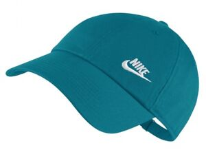 2812ccee54e Nike Women s FUTURA CLASSIC TWILL HERITAGE 86 Adjustable Hat Blue ...