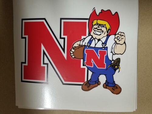 Nebraska Huskers cornhole board or vehicle decal(s) NCAA