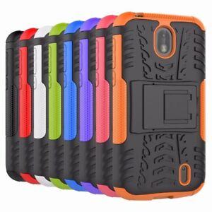sports shoes 463e2 f8175 TPU Armor Rugged Shockproof Case Cover For NOKIA 1 | eBay