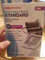 Cvs Pharmacy Standard Blood Pressure Monitor Kit Arm Brand Sealed