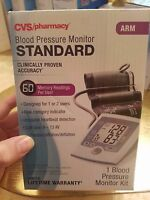 Cvs Pharmacy Standard Blood Pressure Monitor Kit Arm Brand Sealed