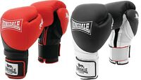 Lonsdale Muay Thai Mma Fight Glove Gym Training Sparring Leather Boxing Gloves