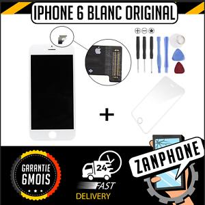 Bien Informé Ecran Original Apple + Vitre Tactile Iphone 6 Blanc Livraison Gratuite ! Belle Qualité