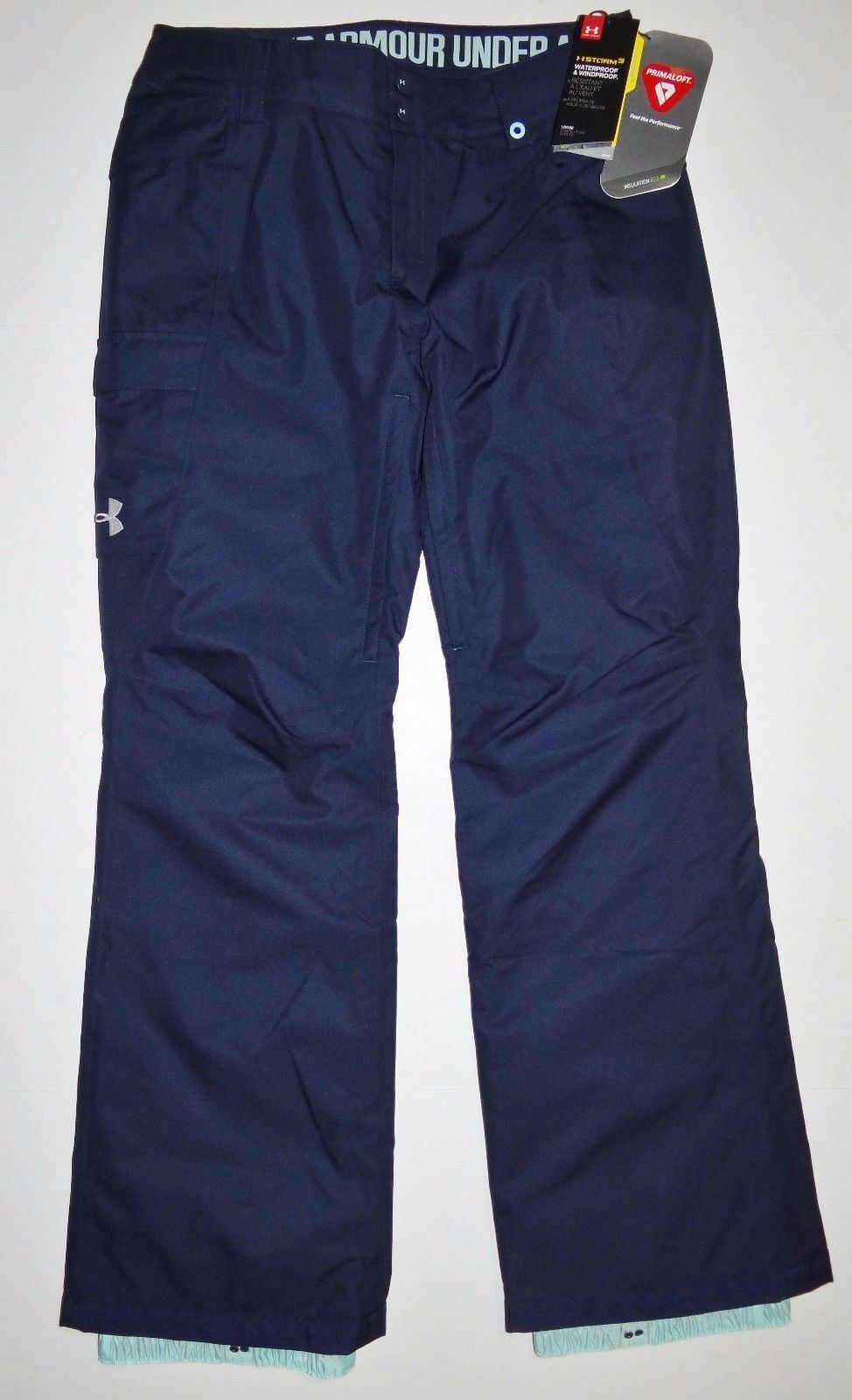 Nuovo Under Armour Donna ColdGear Infrarosso Chutes Snowboard Ski Pants Small