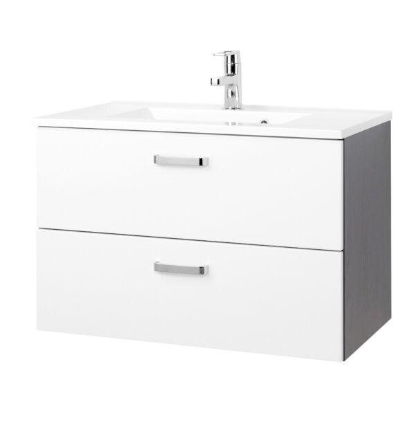 Waschbecken Mit Unterschrank Waschtischunterschrank 80 Cm