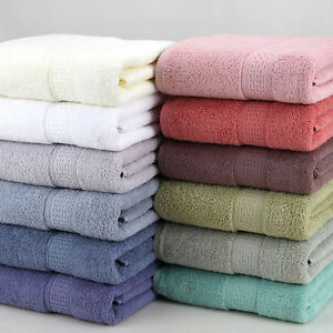 Multi-Color-100-EGYPTIAN-COTTON-LARGER-500-GSM-HAND-BATH-SUPER-SHEET-TOWELS