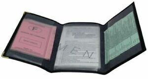 Etui-Porte-papier-auto-Pochette-Carte-Grise-Permis-Cartes-lavage-en-cuir