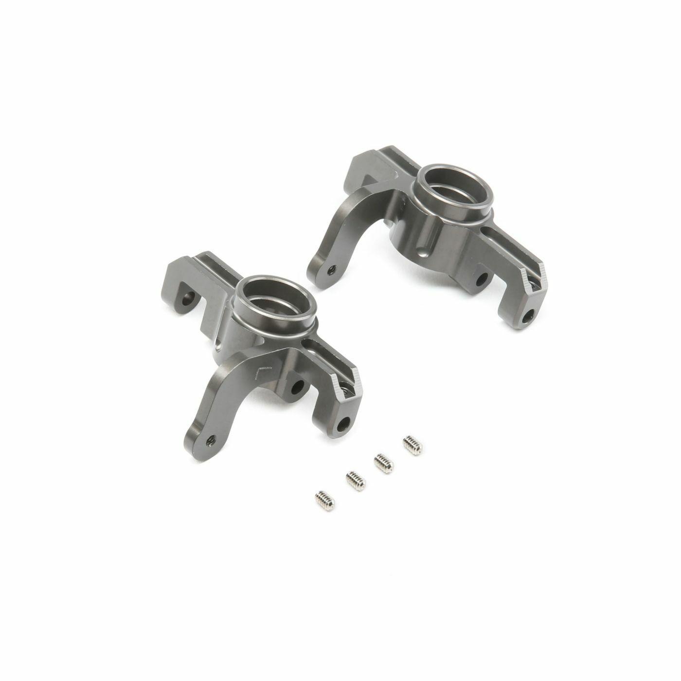 Conjunto de eje frontal de aluminio para universales  8 E 4.0 Z-TLR344006