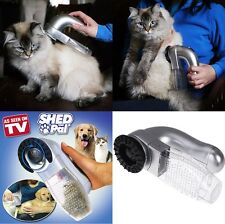 Shed Pal As Seen On TV Pet Hair Remover Dog Cat Grooming Vacuum System Clean Fur
