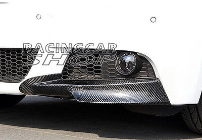 Carbon Fiber Front Bumper Splitter Spoiler BMW E90 E91 LCI M-Tech Bumper b072