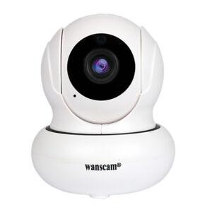 Details about WANSCAM Wireless Wifi Dual Audio Rotate Pan/Tilt IR Infrared  1080P IP Camera P2P
