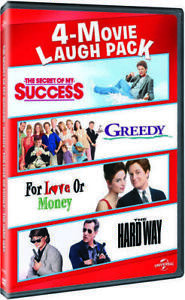 Secret-of-My-Success-Greedy-1994-For-Love-or-Money-1993-The-Hard-Way-DVD-NEW