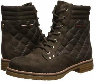 Tommy-Hilfiger-Womens-T-ONELLA-Fabric-Closed-Toe-Ankle-Fashion-Boots