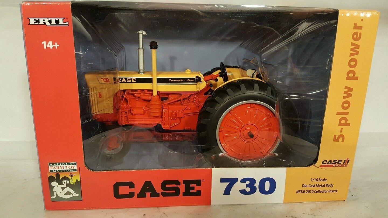 Ertl caso 730 1/16 Tractor de Granja réplica diecast coleccionables