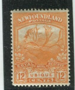 Newfoundland-Stamps-123-MINT-LH-VF-G9621N