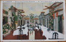 1930 PC: Comedor Mexican/Italian Restaurant-El Paso, TX