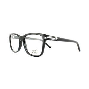 6beb232ee0 Image is loading Mont-Blanc-Glasses-Frames-MB0477-001-Black-Silver