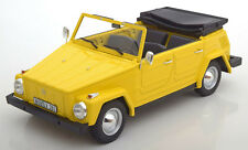Cult Models Volkswagen 181 Kübelwagen Yellow Color in 1/18 Scale New Release!