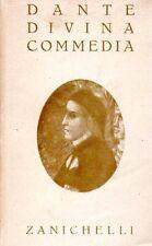 LA DIVINA COMMEDIA DANTE ALIGHIERI MARIO CASELLA 1949 ZANICHELLI (WA251)
