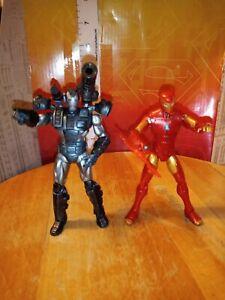 Marvel-Universe-loose-3-75-Warmachine-amp-Ironman-Extremis-Armor-figure-lot