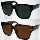 Extra Large Sunglasses Men Women Wayfarer Retro Eyewear Oversized Square Black