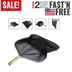 Heavy Duty Deep Bag Pool Rake Amp Swimming Leaf Skimmer Net
