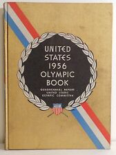 1956 United States Olympic Committee Report Book Melbourne Cortina + Equestrian
