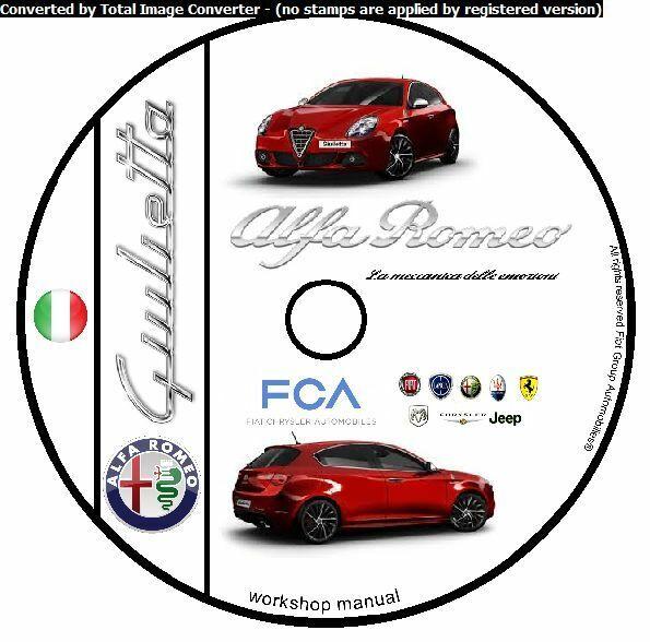 Manuale Tecnico Di Officina Per Alfa Romeo Gt 1 3