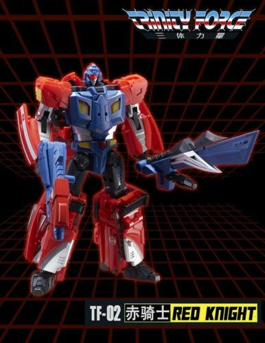 NEW TFC Toy Transformers TF-02 Red Knight Road Caesar Braver Figure In Stock
