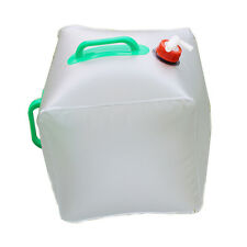 20L Portable Folding Water Storage Bag Carrier Container Outdoor Collapsible PVC
