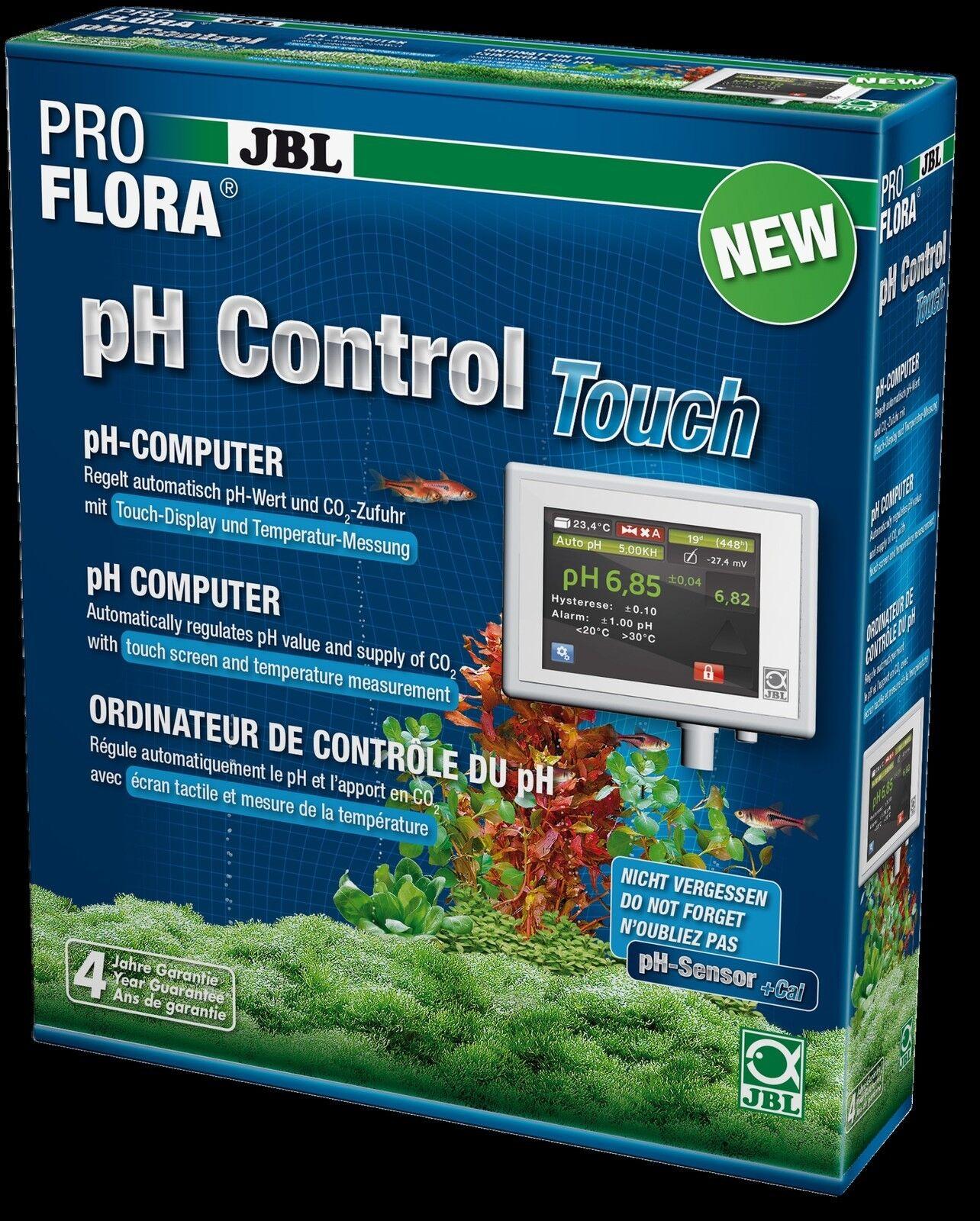 JBL ProFlora Ph Control Touch nuovo Regno Unito computer CO2 sistema PRO Flora Acquario Led