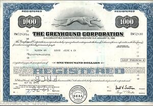 RARE GREYHOUND STOCK FORMAT BONDS! BLUE $1k GRN $5k OLIVE $10k PURP $25k CV $250