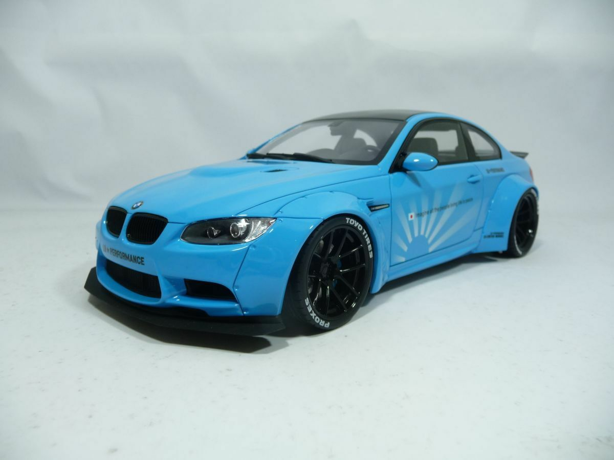 BMW m3 e92 LB Liberty Walk Performance 1 18 GT-SPIRIT kj009 very rare lim.500pcs