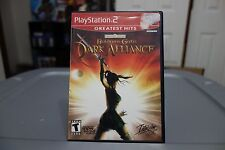 Baldur's Gate Dark Alliance  (Sony PlayStation 2, 2001) CIB COMPLETE! Ships free