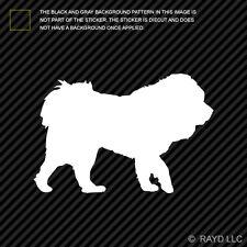 (2x) Tibetan Mastiff Sticker Die Cut Decal Self Adhesive Vinyl dog canine pet