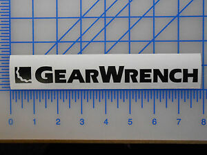 """Gearwrench Logo Decal Wrench Box decal glass outdoor tools QTY of 3 6/"""" LONG"""