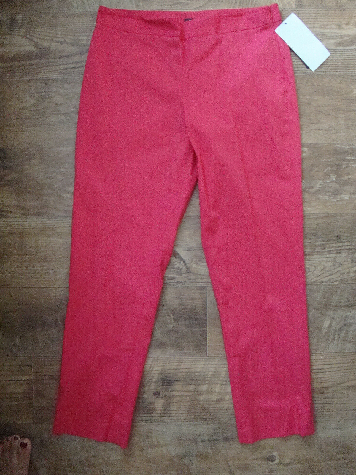 DKNY New Womens  Perry Skinny Fit Cropped Trouser Pants Size 8