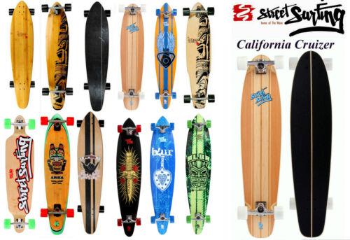 Longboard Skateboard Streetsurfing area Mindless NUOVO