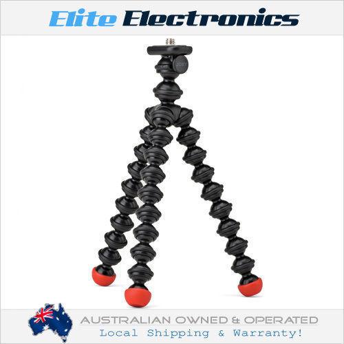JOBY GORILLAPOD MAGNETIC FLEXIBLE TRIPOD BLACK/RED FOR DIGITAL & VIDEO CAMERAS