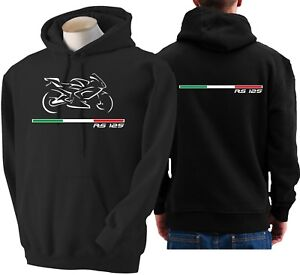 Rs125 Aprilia fiets 125 voor capuchon sweatshirt Rs sweater Hoodie Moto met Sudadera B8xp5wEq