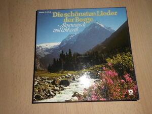 Sampler-2-MC-Cassette-Die-schoensten-Lieder-der-Berge