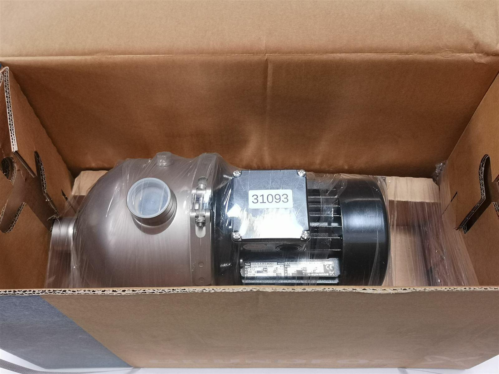 Grundfos CHI4-20 A-W-G-BQQV Pump Rotary Pump