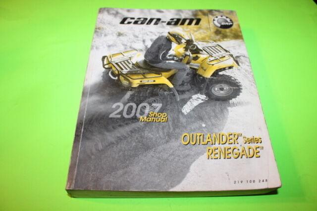2007 Outlander Renegade Service Manual   219100248