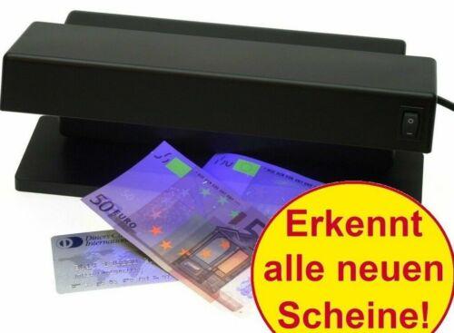 Geldscheinprüfgerät Geldprüfgerät Geldtester Geldprüfer Handgerät mit UV-Lampe