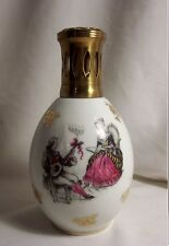 LAMPE BERGER ancienne C. THARAUD TP porcelaine LIMOGES scènes galantes MUSICIEN